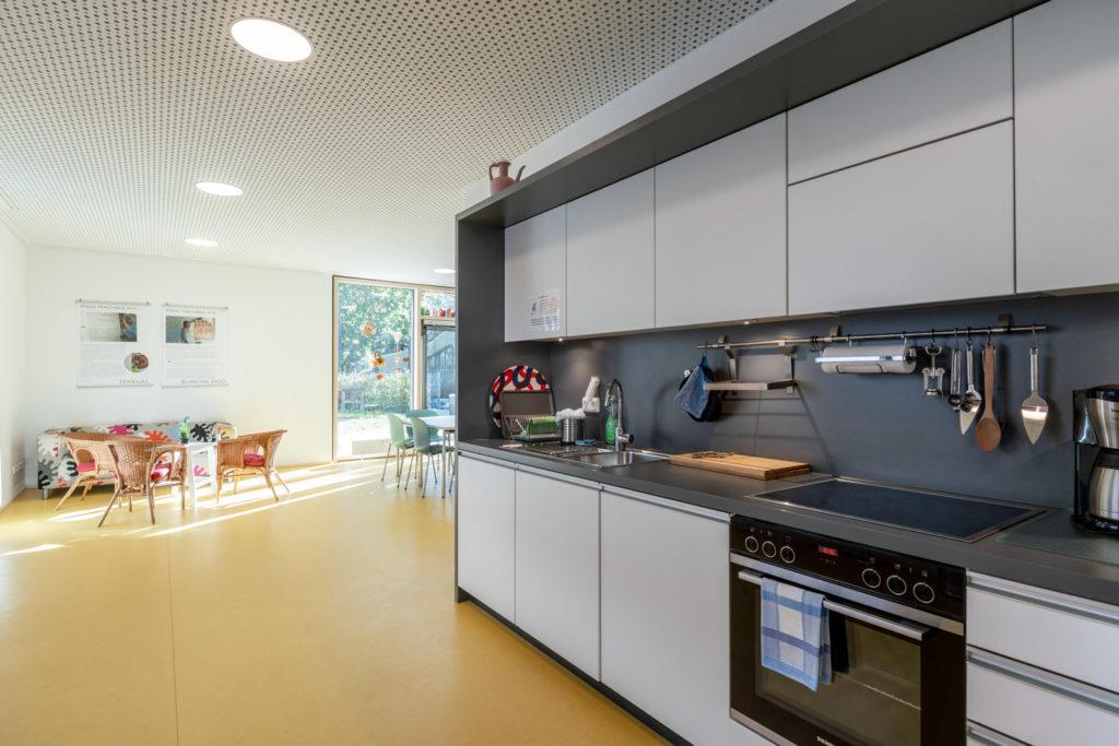 Foto Gruppenraum mit Küche